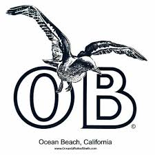 Ob Seagull Sticker Ocean Beach San Diego Ca Product