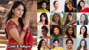 south indian actress caste religion