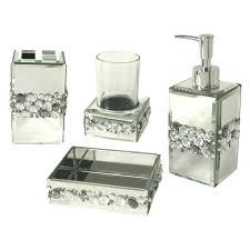 bella lux bath mirror crystal