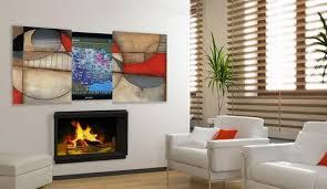 hiding tv above fireplace