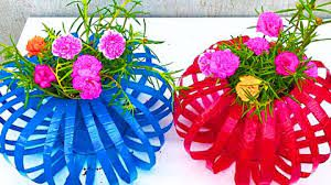 lantern flower pots from plastic bottles