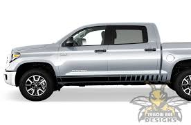 Side Line Stripes Graphics Toyota Tundra Trd Decals And Stickers