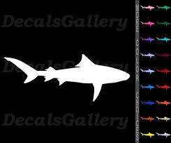 Car Window Decal Truck Outdoor Sticker Movie Shark Jaws Silhouette Cool Car Truck Graphics Decals