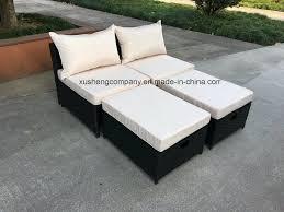 no handrail leisure weaving cane sofa