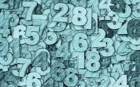 تحميل خلفيات 4k الأزرق الأرقام الخلفية العمل الفني أرقام أرقام