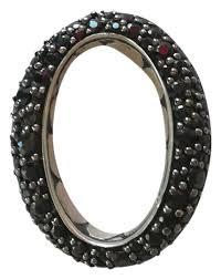 sterling silver kali sapphire pendant