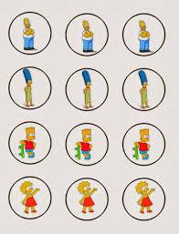 Los Simpson Invitaciones Tarjetas Toppers Y Stickers Para Imprimir Gratis Fiesta De Simpsons Los Simpson Cumpleanos Invitaciones Para Imprimir Gratis