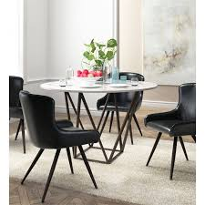 zuo tintern round dining table in stone