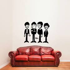 Red Barrel Studio Traditional The Beatles Wall Decal Wayfair