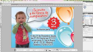 Crea Una Invitacion De Cumpleanos Con Adobe Indesign Tecnologia