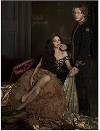 Reign Adelaide Kane as Queen Mary in throne with Toby Regbo as King Francis  8 x 10 Inch Photo at Amazon's Entertainment Collectibles Store