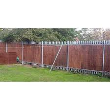 Mgp 8 Ft L X 6 Ft H Willow Twig Privacy Screen Fence Wtf 6 The Home Depot In 2020 Privacy Screen Modern Fence Design Cheap Fence