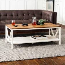 farmhouse coffee tables accent