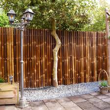 Outdoor Garden Bamboo Fencing Ideas For Terrace Rolls Home Depot Elements And Style Wholesale Back Yard Fence Panels Planting Privacy Diy Projects Crismatec Com