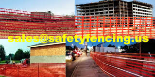 Safety Fence Warning Barriers For Temporary Construction And Other Sites