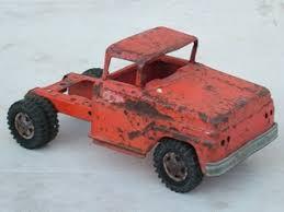 Tonka Truck Red Ser Vi Car 1962 Decal Set