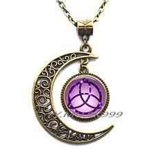 trinity necklace trinity knot celtic