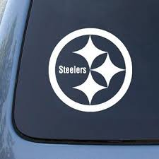 2piece 5 5 Rugby Steelers Vinyl Decal Sticker High Quality American Football Stickers Car Window Decal Stickers Stickers Aliexpress