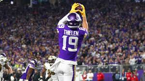 Adam Thielen Catches His Second Touchdown Of The Night
