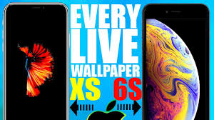every iphone live wallpaper