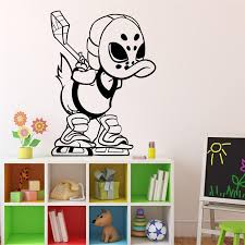 2018 Real Wall Sticker Duck Tales Ice Hockey Wall Decal Cartoons Classroom Interior Living Room Stickers Home Decoration M15 Wall Stickers Aliexpress