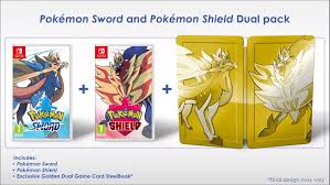 Steelbook info for Pokemon Sword and Shield included at the end of ...