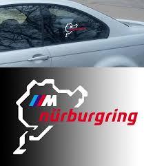 Product Bmw Motorsport M Nurburgring Ring Window Body Racing Vinyl Decal Sticker