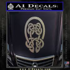 Celtic Knot Decal Sticker A1 Decals