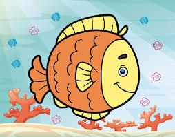 Resultado de imagen de imagenes pez dorado dibujo