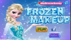 frozen makeup games saubhaya makeup