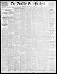 Der Deutsche correspondent. [volume] (Baltimore, Md.) 1841-1918, August 19,  1890, Image 1 « Chronicling America « Library of Congress