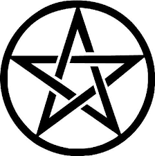Pentacle Star Wiccan Pagan Symbol Die Cut Vinyl Sticker Decal Stic Sticky Addiction