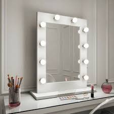 dressing table mirror no base wall hung