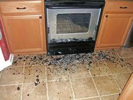 exploding oven door glass is common