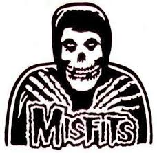 Misfits Reaper Die Cut Vinyl Sticker Decal Sticky Addiction