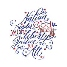 One Nation Under God Embroidery Design ...