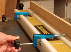 Rockler Universal Fence Clamps Newwoodworker Com