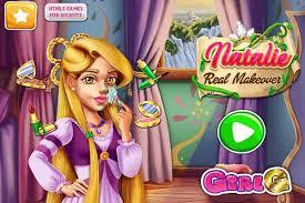 natalie real makeover make up games