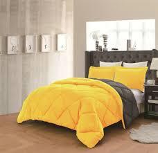 velvet bedding pillow shams queen grey