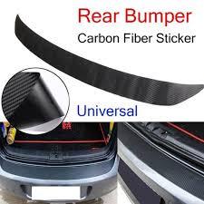 Car Scratch Proof Sticker Trim Cover Strip Film Decal Rear Bumper Protection Wish