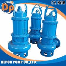 submersible macerator pump sewage lift