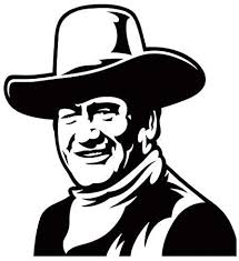Amazon Com John Wayne 1 Sticker Vinyl Decal The Duke Home Audio Theater