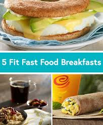 5 healthy fast food breakfast options