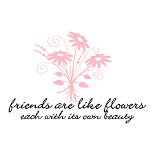 friends are like flowers wall quotes decal com