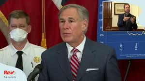 Gov. Greg Abbott Texas Press Conference Transcript June 22 on Coronavirus -  Rev