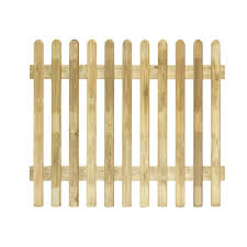 Grange Fencing Profiled Round Top Picket Picket Fence W 1 8 M H 1m Pack Of 5 Departments Diy At B Q