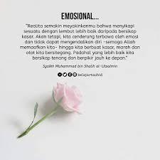 emosi tidak akan menyelesaikan suatu masalah ingetttt