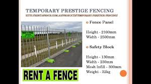 Temporary Fencing Hire Perth All Temporary Fencing Youtube