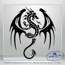 Dragon On Fire Game Of Thrones Jdm Car Bumper Window Vinyl Decal Sticker Laptop Ebay