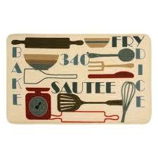 mid century modern kitchen mats